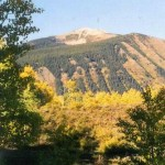 Mt. Emmons in the fall color