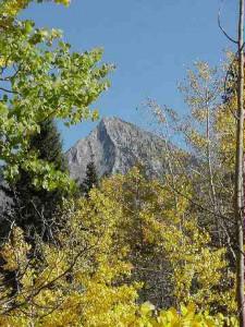 Peak of Mt CB
