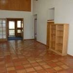 Upper hallway deck access