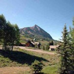 View of Crested Butte Mtn