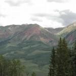 Elk Mountains - Red tint