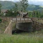 Ski Access bridge-trail