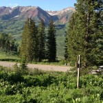 View of Elk Mtns