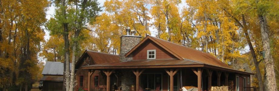 Autumn view house 2