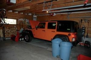 Garage in Main House