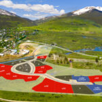 Aperture is the new neighborhood next to the town of Crested Butte – cross over the Aperture bridge and witness the beautiful vistas from every building site