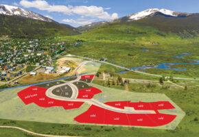 Aperture is the new neighborhood next to the town of Crested Butte