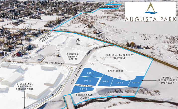 Augusta Park – new subdivision in town of Crested Butte – 6 building sites